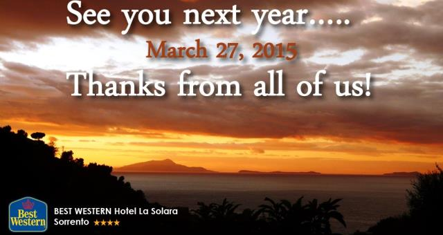 From 27 March 2015, book now!