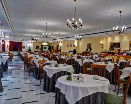 The restaurant at the Best Western Hotel La Solara, Sorrento 4-star hotel, is ideal to taste the typical dishes of Campania